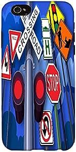 Snoogg Cruce Ferroviario 2542 Diseñador De Protección De Nuevo Caso Para El I...