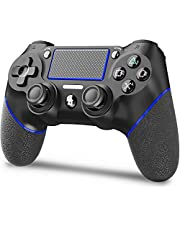 [2021 Edition] AVIDET Replacement for PS4 Controller, Wireless Controller for Ps4/Pro/3/Slim/PC, Touch Panel Gamepad with Dual Vibration and Audio Function, LED Indicator USB Cable