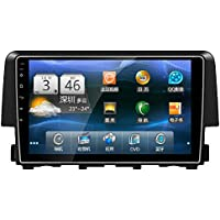 9 Quad Core Android 5.1 HD Full Touch Screen Diskless Car DVD GPS Navigation Player for Honda Civic 2016 Vehicle Multimedia GPS Player System Steering Control