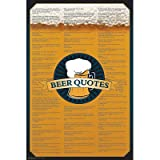 Beer Quotes Poster College 24X36 Funny Drinking 8940 Poster Print, 24x36