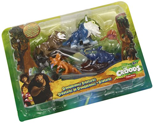 Creature Pack (Fisher-Price DreamWorks The Croods: Croodaceous Creature Pack)