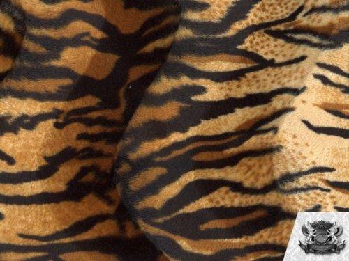 Velboa Faux / Fake Fur Tiger GOLD BEIGE  - Beige Tiger Shopping Results
