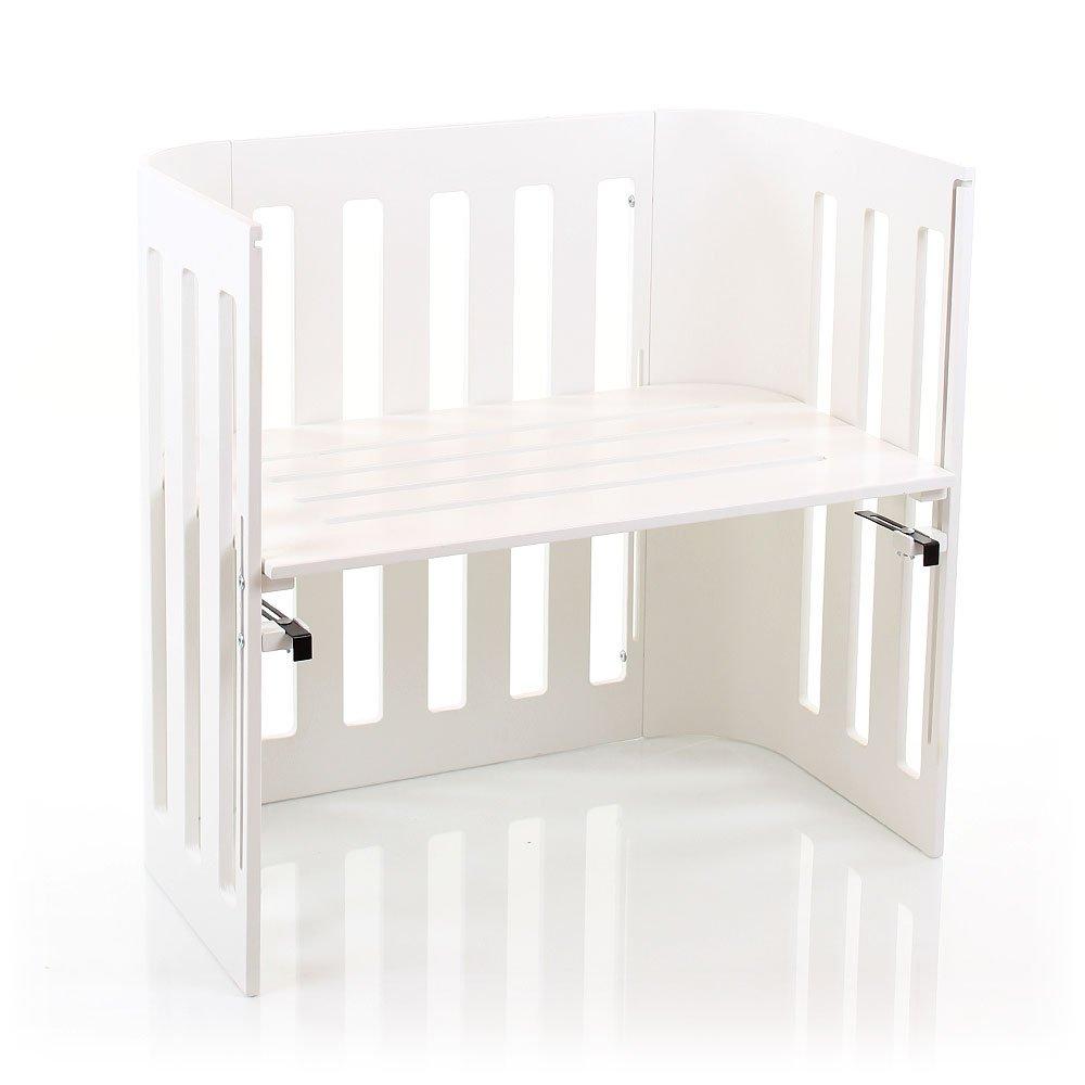 babybay Trend Beistellbett, weiß lackiert