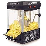 Nostalgia KPM200BK Kettle Popcorn Maker, 2.5-Ounce, Black