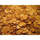 Lot of 50 Shiny Metal Gold Pirate Treasure Coins