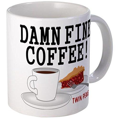 UingShow Twin Peaks Damn Fine Ceramic Coffee Mug Tea Cup