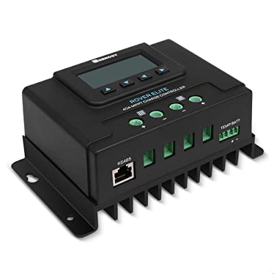 Renogy RCC40RVRE-G1 40 amp MPPT Solar Charge Controller, 40Amp, with LCD Display: Electronics