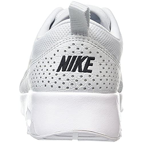 NIKE Womens Air Max Thea Running Shoes Pure PlatinumBlack