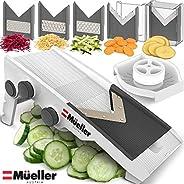 Mueller Austria Premium Quality V-Pro Multi Blade Adjustable Mandoline Cheese/Vegetable Slicer, Cutter, Shredd