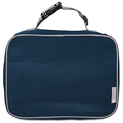 Insulated Durable Lunch Box Sleeve - Portion Perfect Reusable Lunch Bag - Securely Cover Your Bento Box, Works with Bentology Bento Box, Bentgo, Kinsho, Yumbox (8