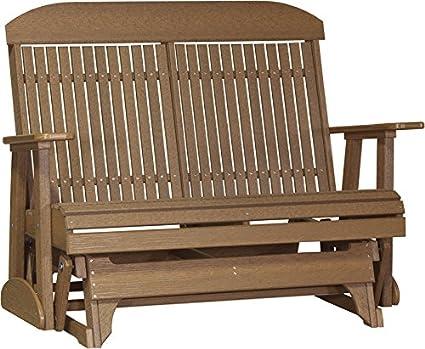 Amazon Com Furniture Barn Usa Outdoor 4 High Back Glider