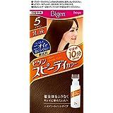 ホーユー ビゲン スピィーディーカラー 乳液 5 (ブラウン)1剤40g+2剤60mL