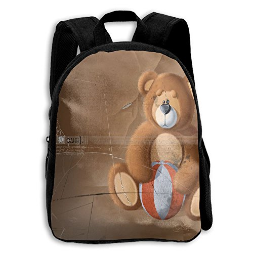 New College Football Uniforms (Teddy Bears And Football Lightweight Daypack Backpack For Child)