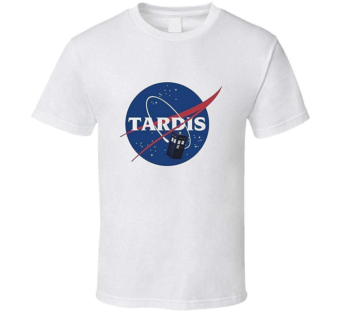 Doctor Who Tardis Space Progam t-Shirt NASA Logo sci-fi Cult hit