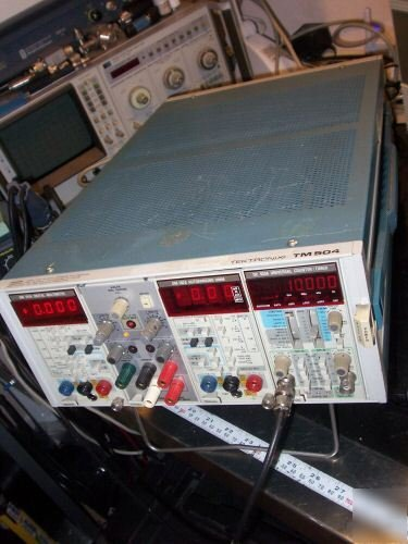 TEKTRONIX DM 501A Digital Multimeter Plug-In *AS-IS / FOR PARTS*