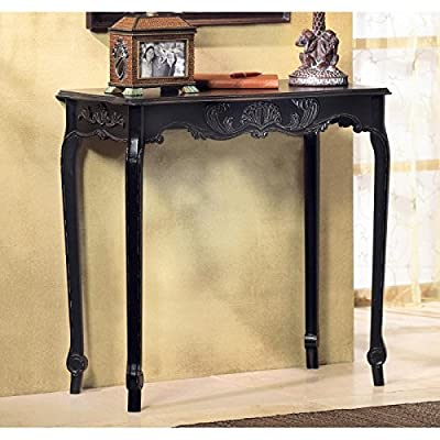 Tables SCALLOP DETAIL HALL TABLE Den Office Room Gift