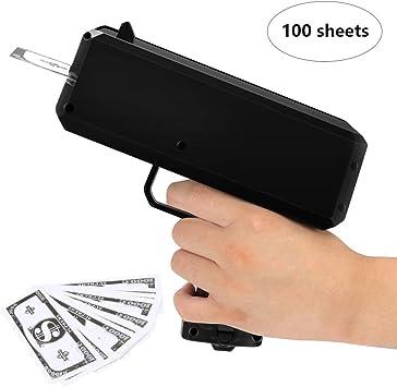 CestMall Geld Pistole Spielzeug &Geldpistole, Spritzpistole