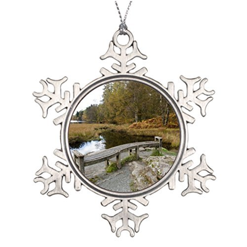 Metal Ornaments Tarn Hows Lake District Xmas Trees Decorated Unusual Christmas Trees