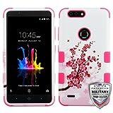 MyBat Mybat TUFF Hybrid Case - Cell Phone Case - (Spring Flowers/Electric Pink)