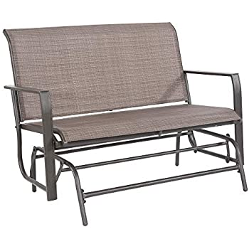 Amazon Com Furniture Patio Glider Clearance Outdoor