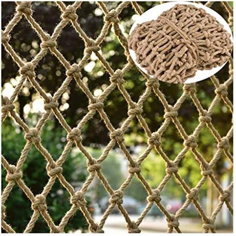 ナイロン安全ネット フェンス落下防止ネッ安全ネット 多目的な用途のネット 階段ネット ベランダ防護ネット 建設金庫ネット屋外ガーデン保護ネットハンモックスイングクライミングネットロープカーゴカバー (Size : 1×5m(3.3×16.4ft))