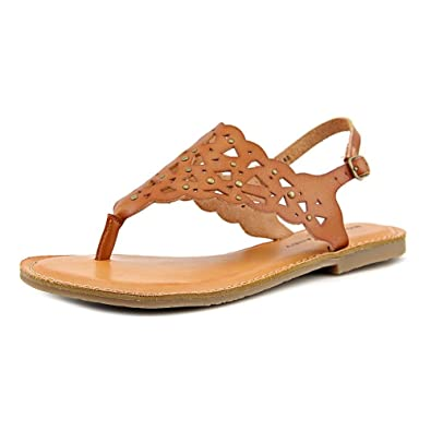 11a46bdc2adc Rock   Candy Breeana Women Open Toe Synthetic Brown Slides Sandal