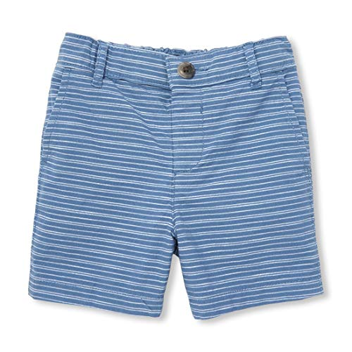 The Children's Place Baby Boys Solid Bermuda Shorts, Hudson Bay, 12-18MOS Baby Boys Bermuda Shorts