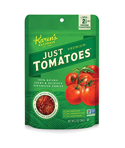 Karen's Naturals Just Tomatoes, 2 Ounce (Packaging May Vary) (Crunchies Garden Tomato)