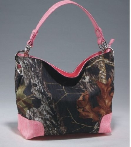 Licensed Mossy Oak Camo Camouflage Western Hobo Tote Purse Handbag by Mossy Oak