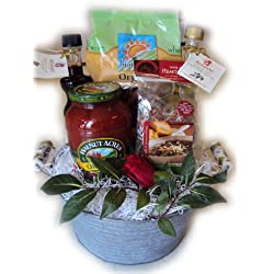 Italian Sampler Healthy Gift Basket
