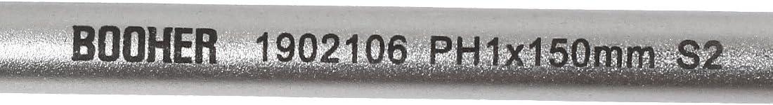Sourcingmap-150mm de largo Bar de cabeza de BOOHER PH1Cruz Destornillador Phillips