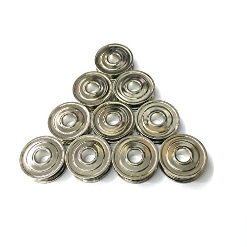 Cutex Brand 10 Metal Bobbins for Kenmore, White Sewing Machines Bobbin #744