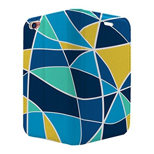 gebeizt Glas Muster Voll Flip Case Cover Für Apple iPhone 6–6S–S3539