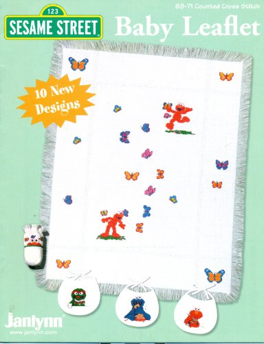 Sesame Street Baby Leaflet: 10 New Designs (Counted Cross Stitch) ()