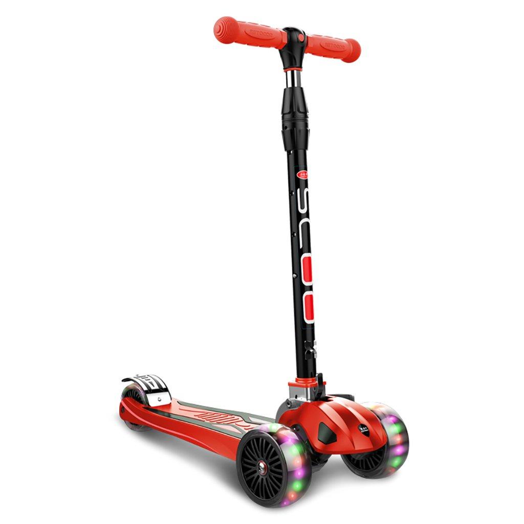 YONGLIANG B07BPQS2FQ 子供のフラッシュスクーター子供の2歳のペダルスケーターの赤ちゃんのおもちゃ三輪車スクーター (色 Red : 青) : B07BPQS2FQ Red Red, 山口村:7f6646f1 --- integralved.hu