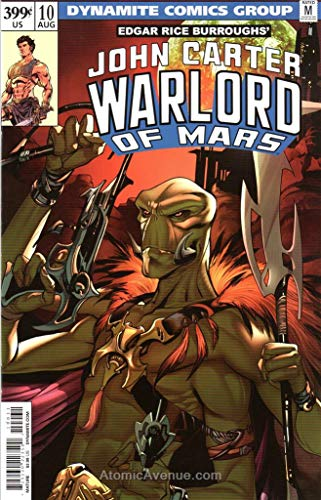 (John Carter, Warlord of Mars (2nd Series) #10C VF/NM ; Dynamite comic book)