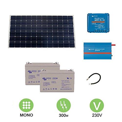 Kit fotovoltaico de 300 W a 230 V