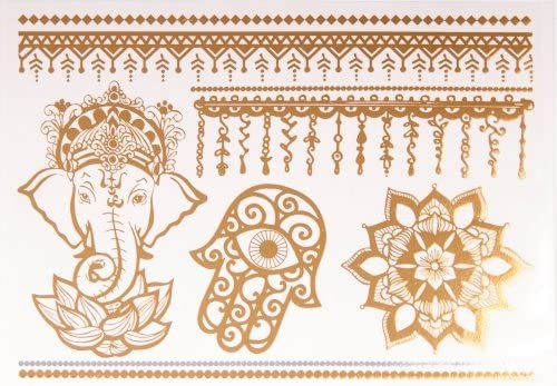 De metal de tatuajes de símbolos - diseño de tatuaje de protección ...