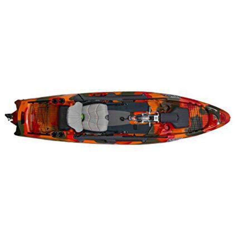 Fire Camo Feel Free Dorado 125 Kayak with Overdrive