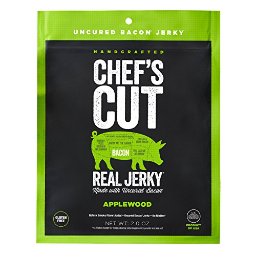 (Chef's Cut Tender Real Bacon Jerky, Applewood, 2)