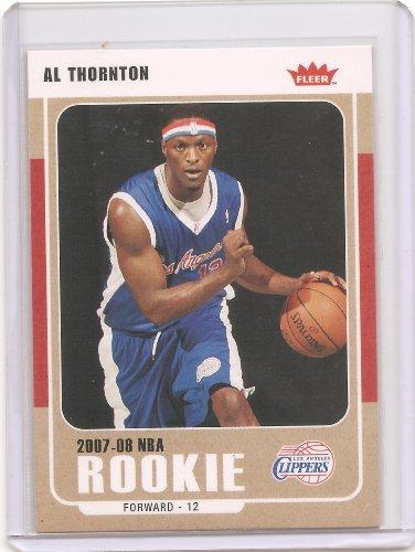 2007-08 Fleer Basketball Card # 227 - Al Thornton Rookie Card ()