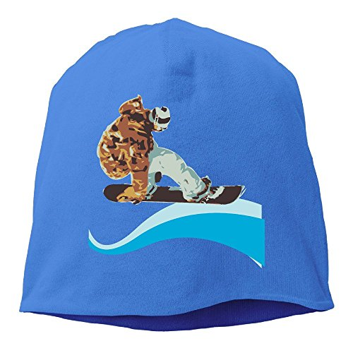 Racing Screws Ice (Sports Ventilated Skating Boy Cool Extreme Sports Skull Beanie Cap RoyalBlue)