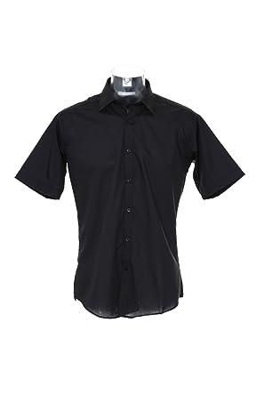abdfc96902eb Shirts & Hemden Kustom Kit Slim Fit Mens Business Office Work Wear Shirt  Short Sleeve KK191 Herrenmode