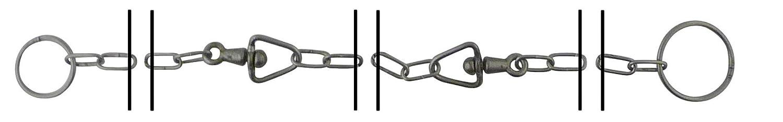 Viso CP305SB Steel Ringing Assembled Animal Grazing Chain