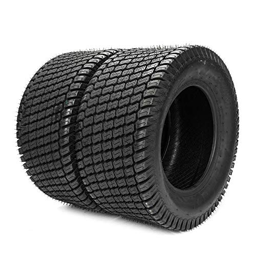 Set of 2 20x10.00-8 Turf Tires for Lawn & Garden Mower 20/10-8,4PR by Motorhot