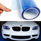 LIGHT BLUE 12 by 48 inches Self Adhesive Headlight Bumper Hood Paint Protection Film Vinyl Sheet Headlights, Tail Lights,Smoke Fog Lights Tint Vinyl Film Car Light HeadLight Sheet Car Sticker