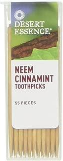 product image for DESERT ESSENCE Neem Cinnamint Toothpick Dis 12 Piece, 0.02 Pound