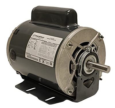 Marathon C1158 Fan and Blower Motor, Single/Split Phase, 1 hp, 1725 rpm, 115/208-230V, 14.7/7.2-7.4 amp