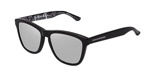 a71b8202a9 Hawkers Basqx01 Gafas de sol Unisex Adultos, color Negro, 5 mm ...
