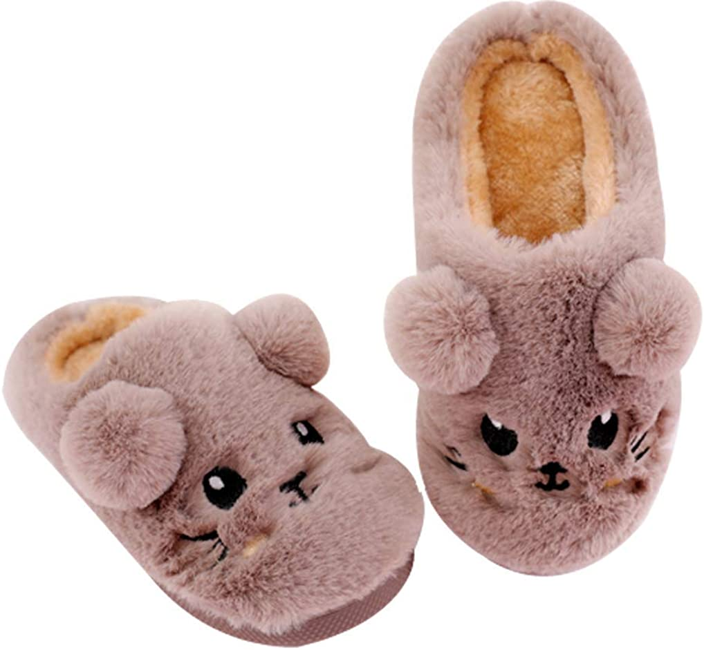 Cwait Summer Girls Beach Slide Sandals Cute House Indoor Slipper Toddler Little Kid
